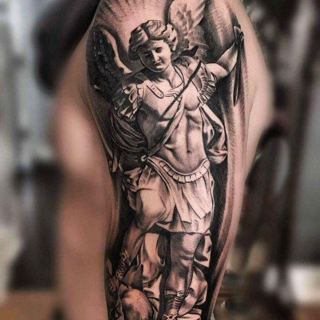страшные архангел тату фото картинки этот результат