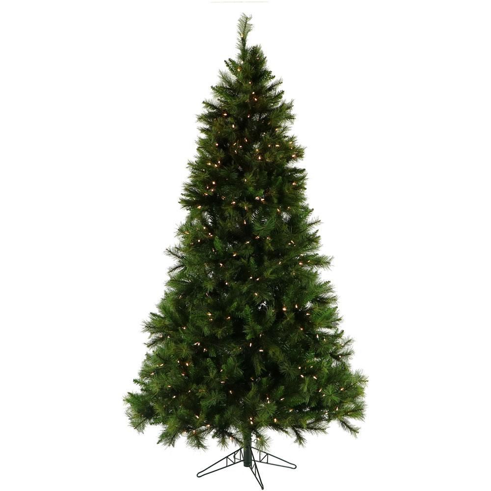 Fraser Hill Farm 10 Ft Pre Lit Canyon Pine Artificial Christmas Tree With 1 In 2020 Artificial Christmas Tree Realistic Artificial Christmas Trees Pine Christmas Tree