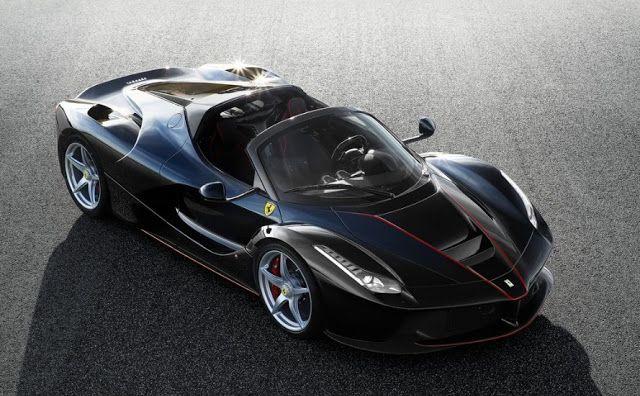 Car Showstopper Latest Ferrari LaFerrari Aperta 2017  Cars