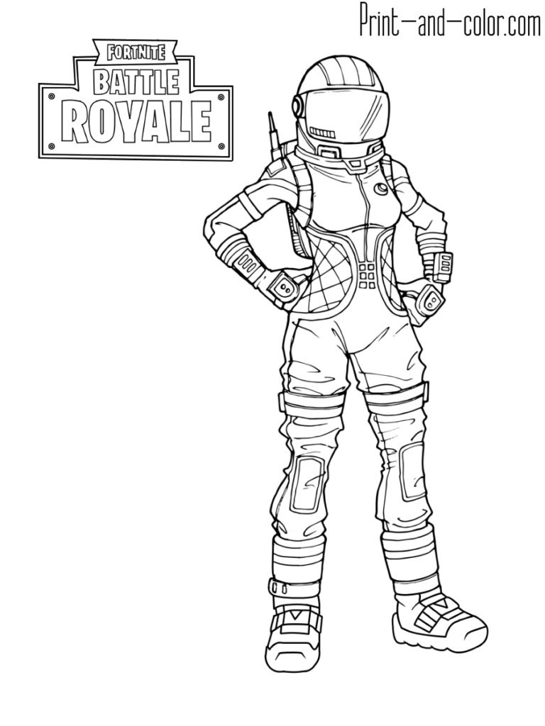 Fortnite Omega Coloring Page With Images Coloring Pages