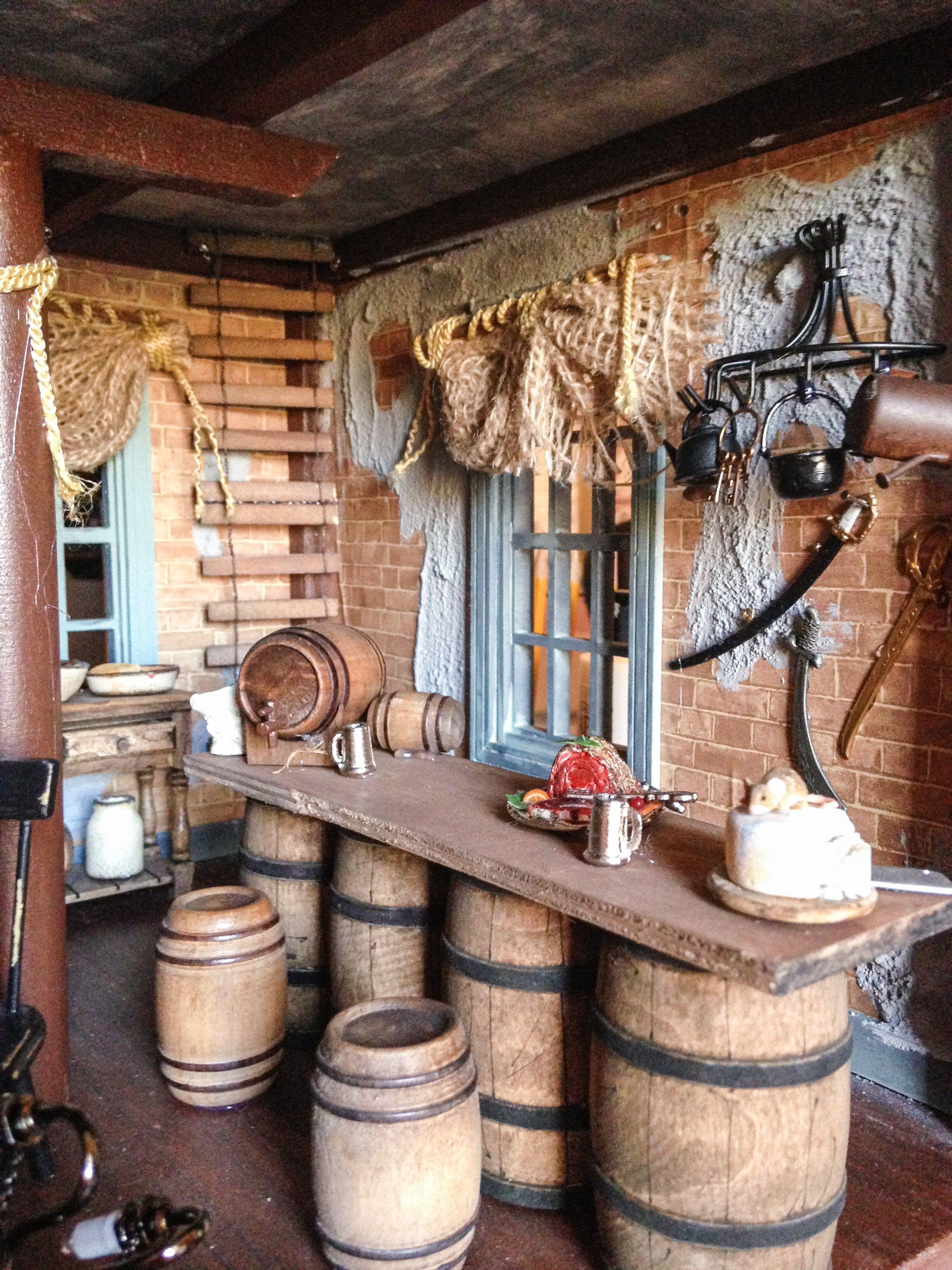 Inside The Dollhouse Pirate Tavern Pirate Tavern 1 12
