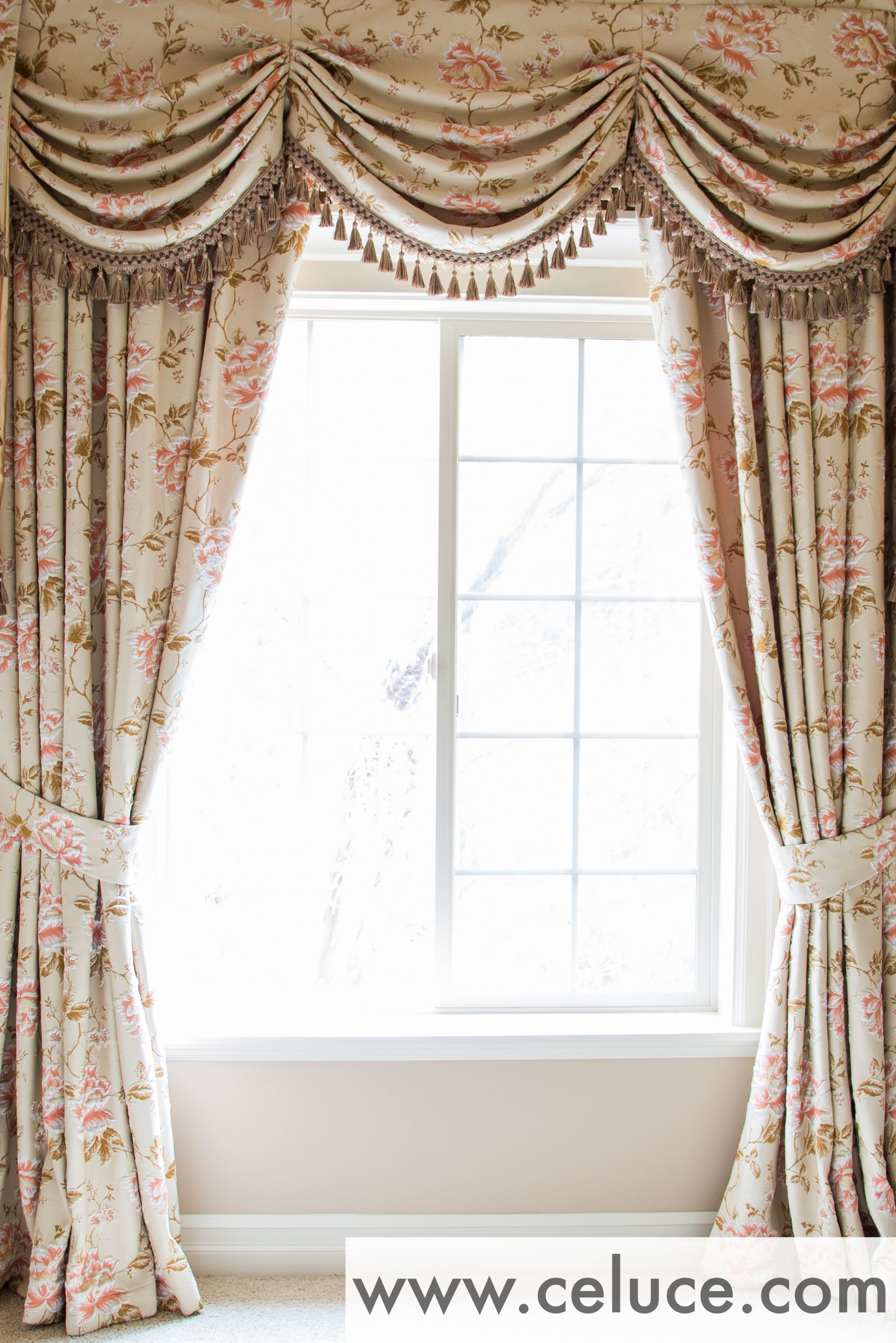 Www celuce com customize curtains online swag valance victorian style