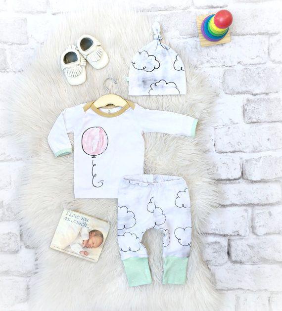 Baby-Take-Home-Outfit / / Geschlecht Neutral von SnugAsaBugClothes
