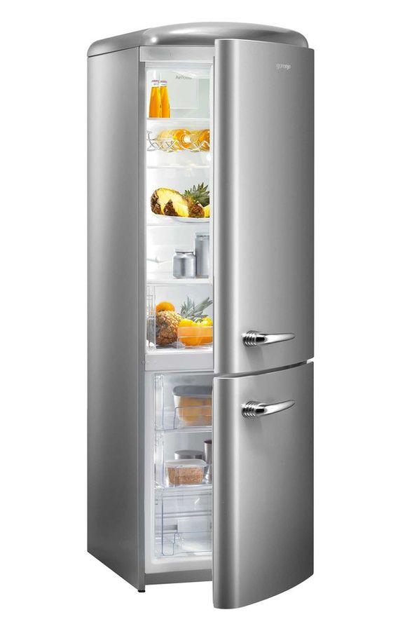 refrigerateur congelateur en bas gorenje rk 60359 ox. Black Bedroom Furniture Sets. Home Design Ideas