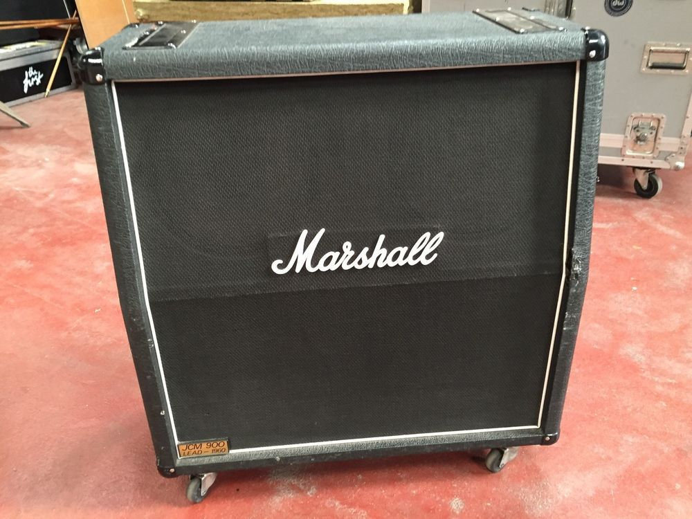 Marshall 4x12 Cabinet Cab With Images Marshall Cab Ebay