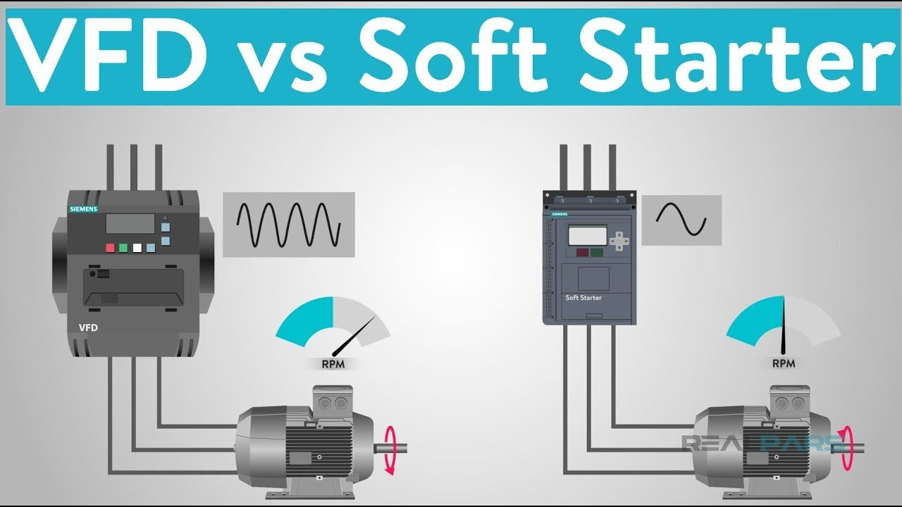 What Is The Difference Between Vfd And Soft Starter