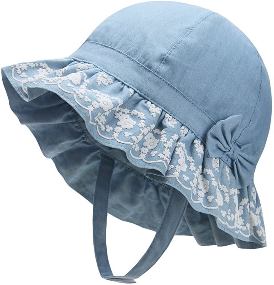 Amazon Com Vivobiniya Sombreros Para Bebe Y Nina De 0 A 6 Anos Cubeta Clothing Baby Sun Hat Baby Girl Hats Baby Hats