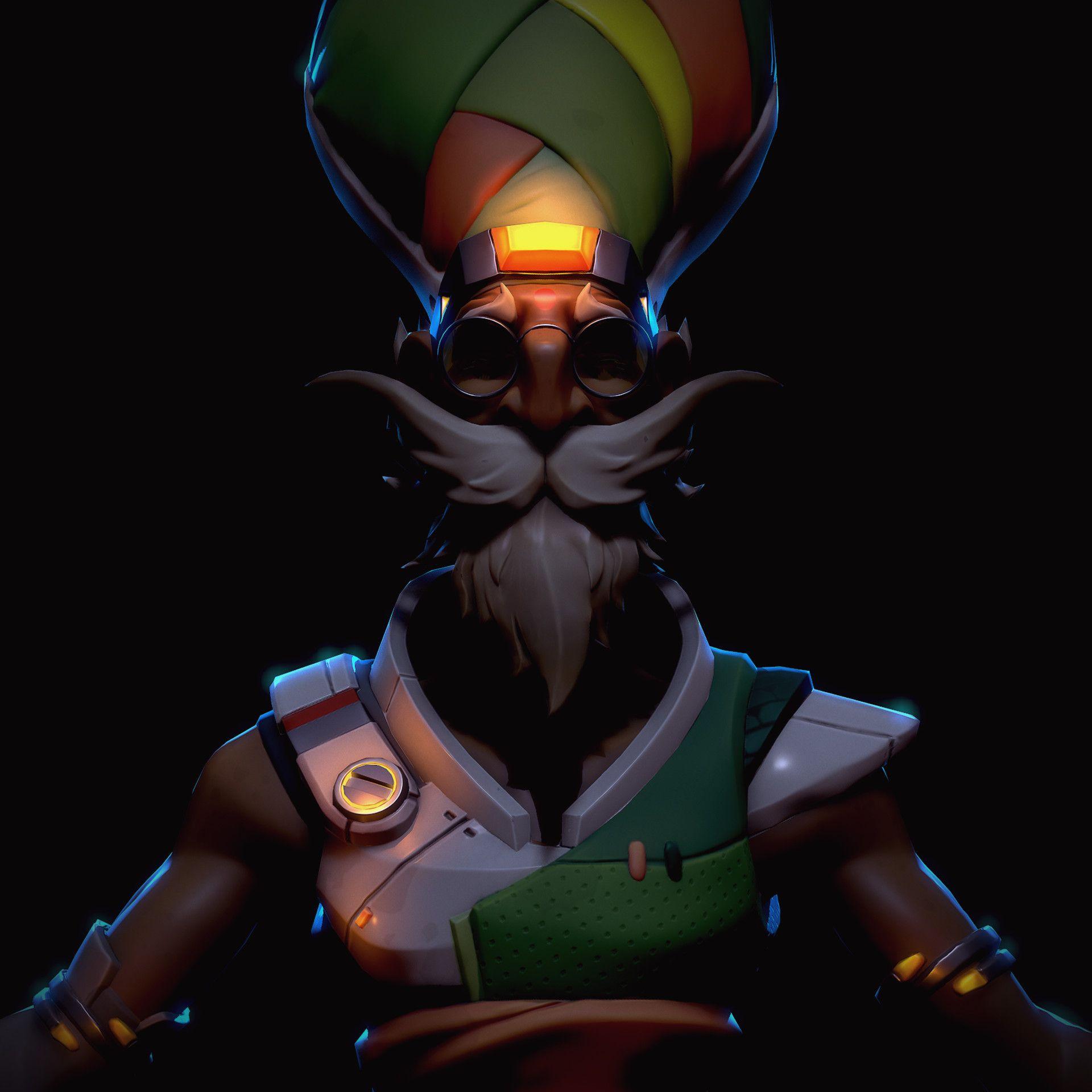 ArtStation - Zameen 3D [Overwatch Fan-made Character], Tim ...