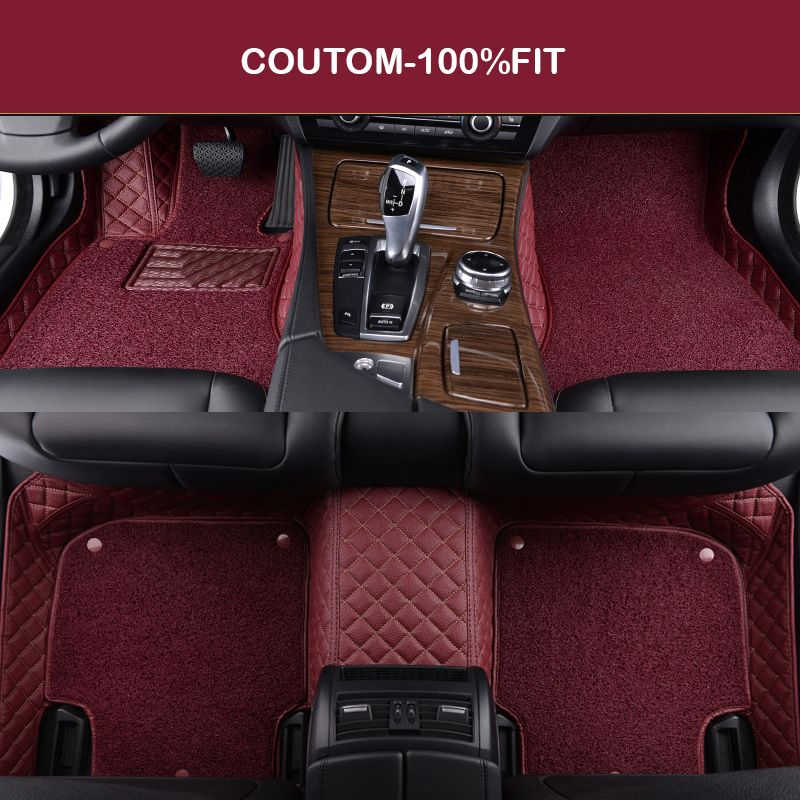 Custom Car Floor Mats For Chrysler 300c 3d Car Styling Heavy Duty