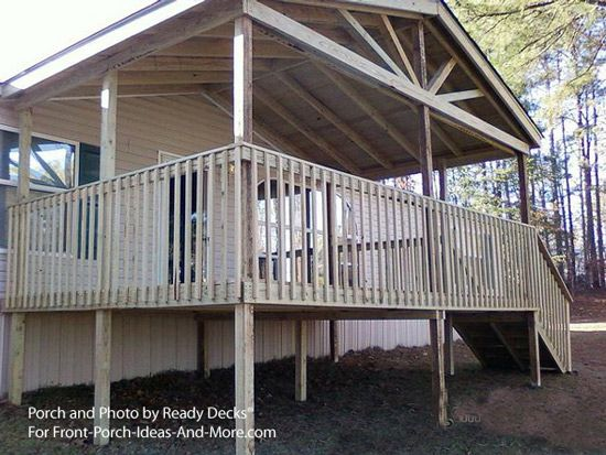 Porch Designs For Mobile Homes In 2019 Home Mobile