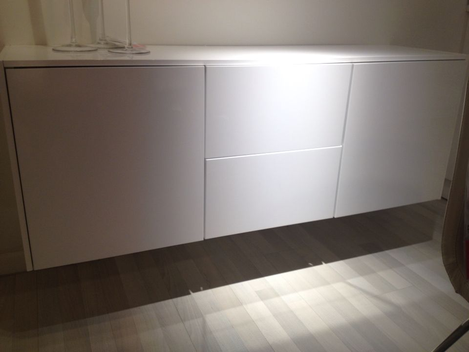 Low Credenza Ikea : Tips storage cabinets ikea for save your appliance