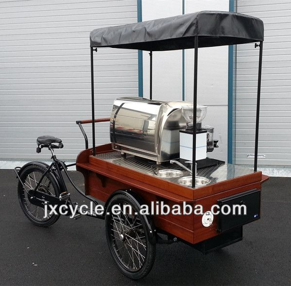 Coffee Bicycle Coffee Bike Electric Tricycle Coffee