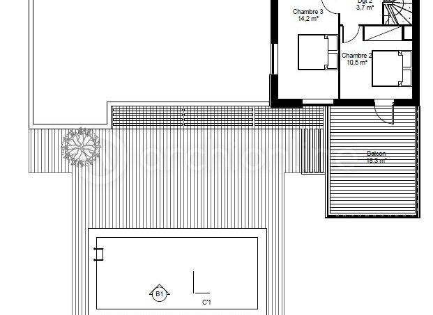 Maison Lounge  une maison Moderne conçue par lu0027architecte