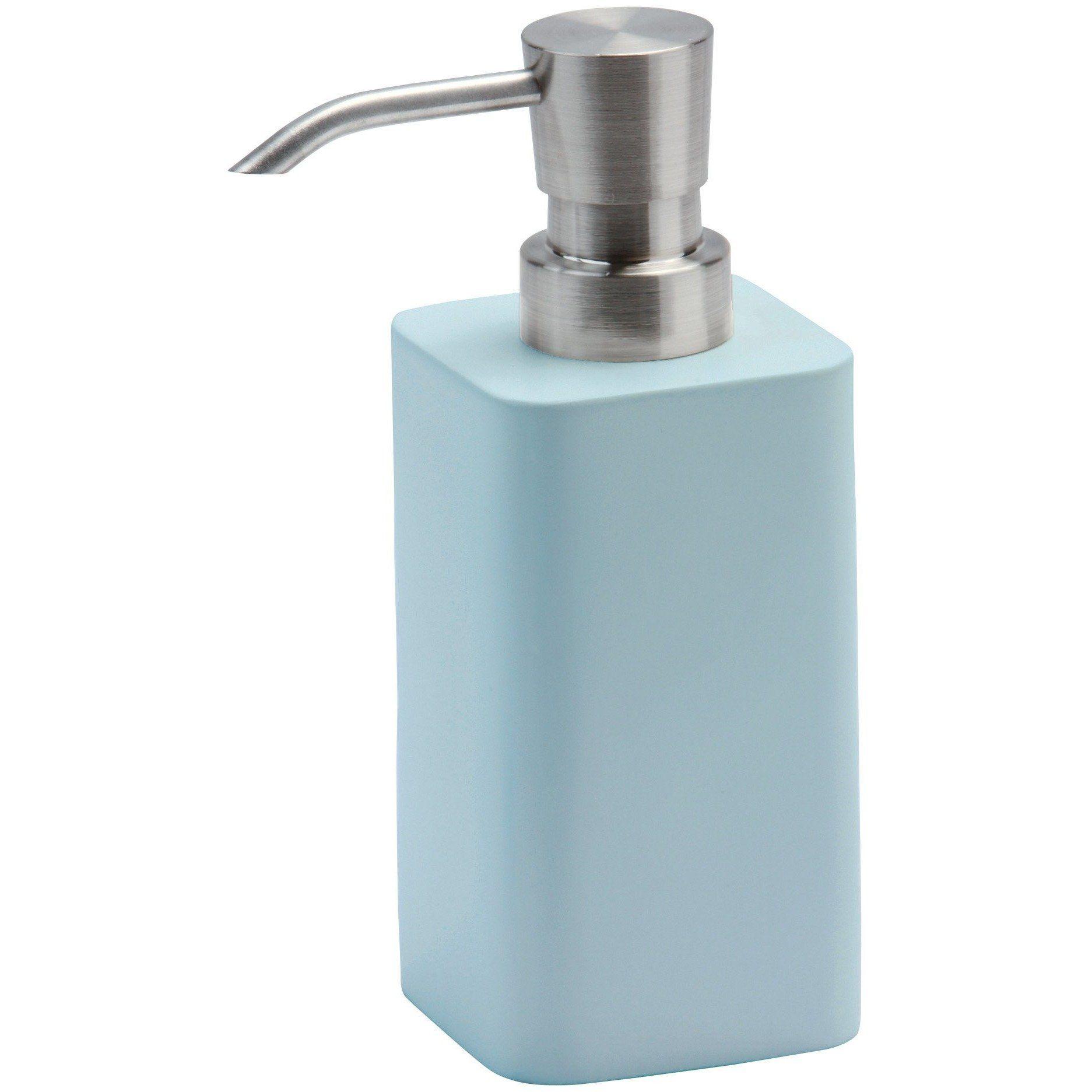 Ona Square Resin Bathroom Or Kitchen Pump Liquid Soap Lotion