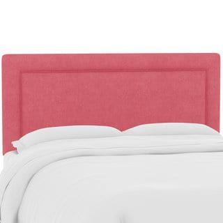 Skyline Furniture Custom Upholstered Headboard In Linen Custom