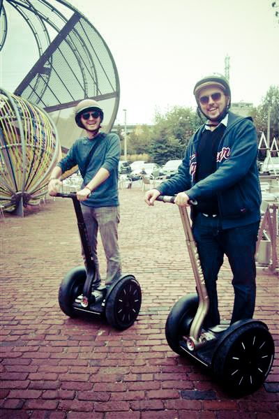 Get Fast & Geeky with Segway Tours in Toronto Segway