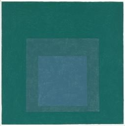 Josef Albers 'Study for Homage to the Square', 1964 © The Joseph and Annie Albers Foundation/VG Bild-Kunst, Bonn and DACS, London, 2015