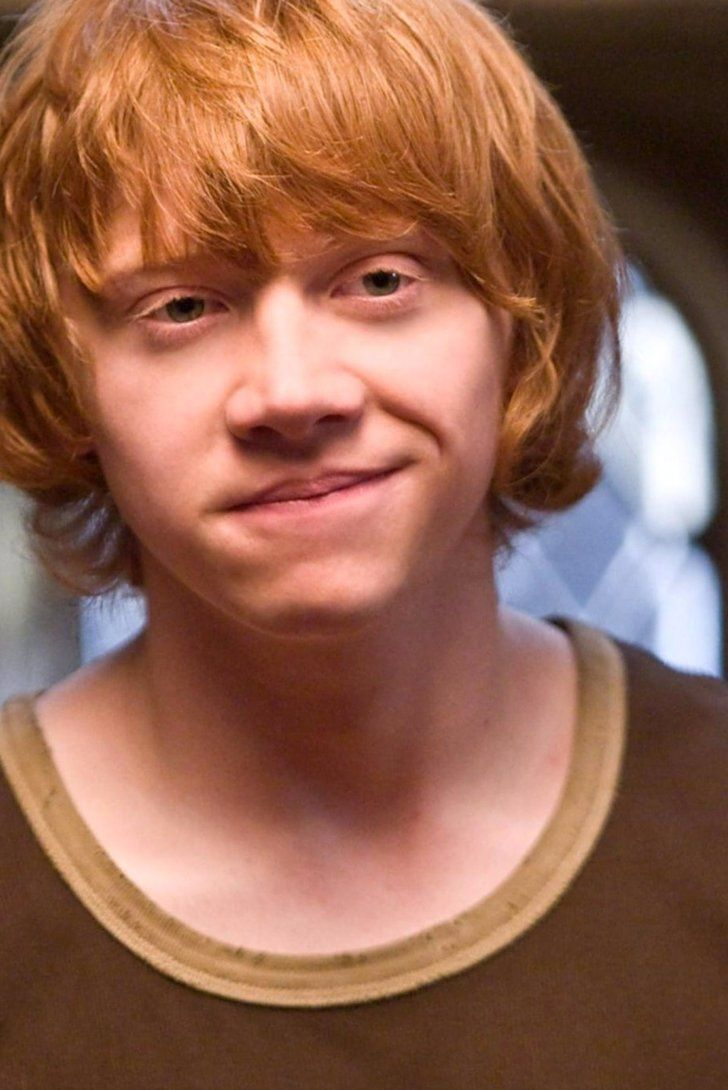 Rupert Grint Got A Shout Out In The Half Blood Prince Novel And You Probably Missed It Harry Potter Pinterest