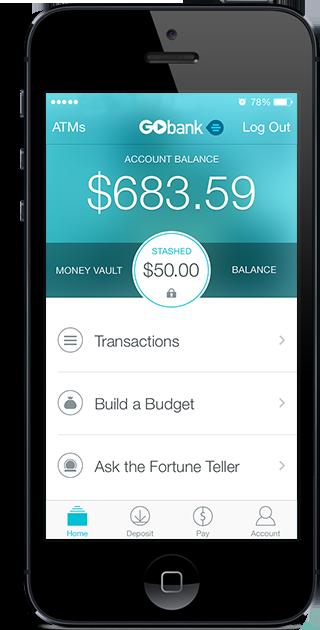Online Banking - Checking Account - Direct Deposit | GoBank