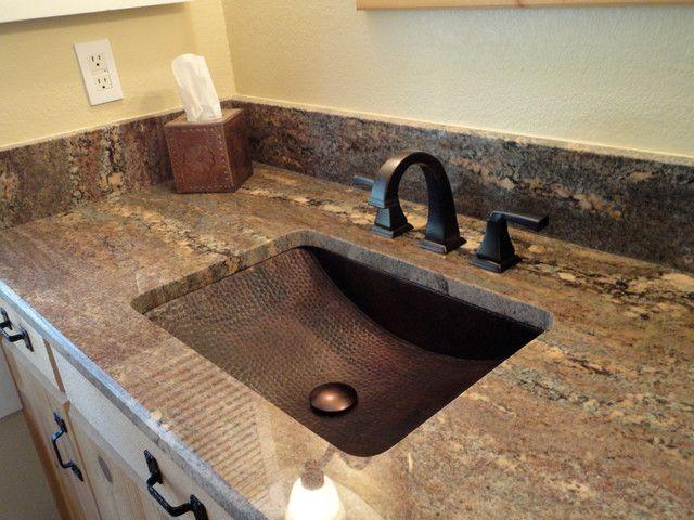 copper bathroom sink faucets   Bathroom Decorating Ideas   Pinterest ...