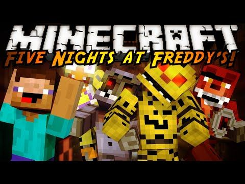 Minecraft Mod Showcase Five Nights At Freddy S 2 Mod Five Nights At Freddy S Five Night Minecraft Mods