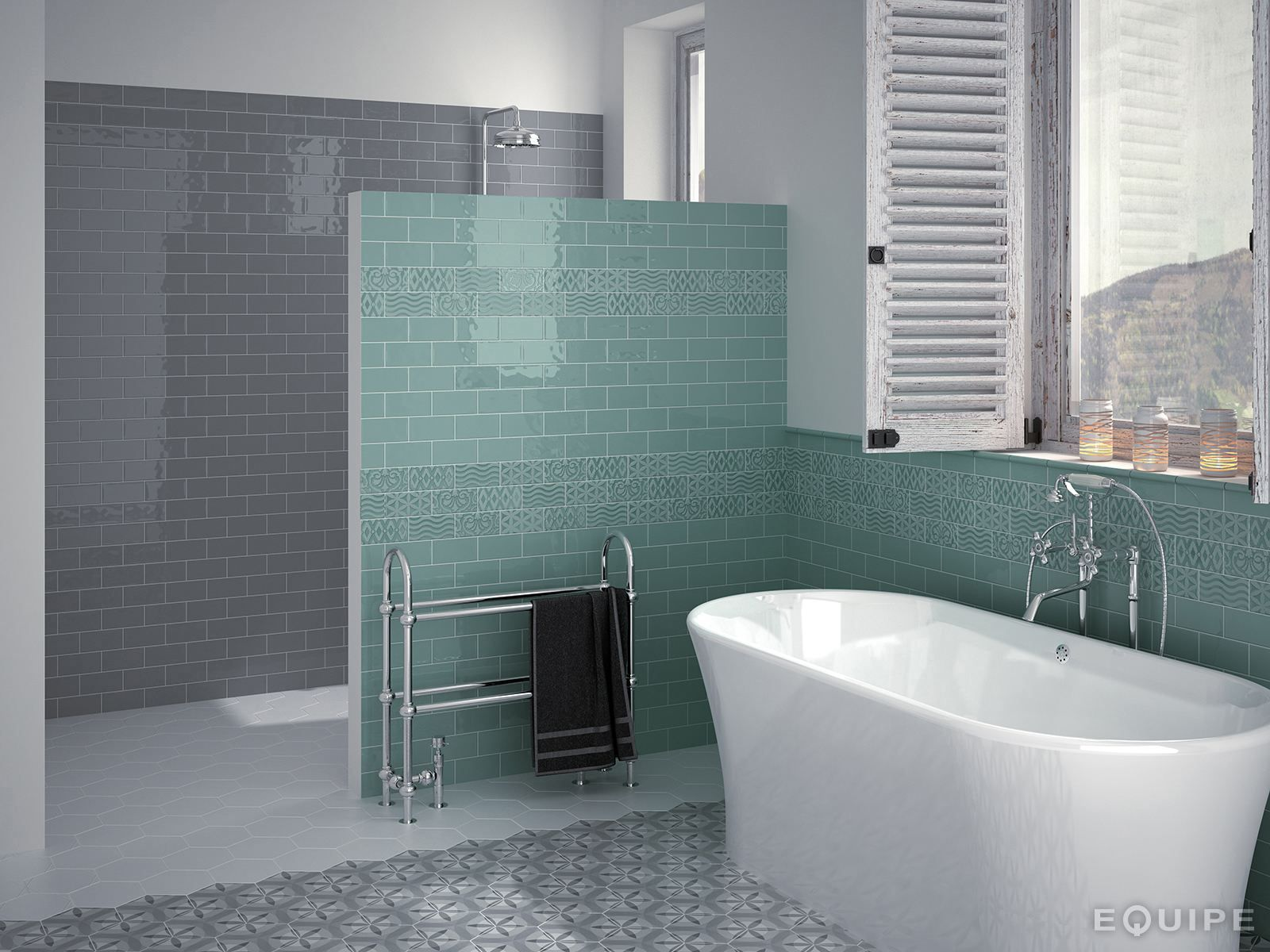 White Paste Wall Tiles Masia By Equipe Ceramicas With Images