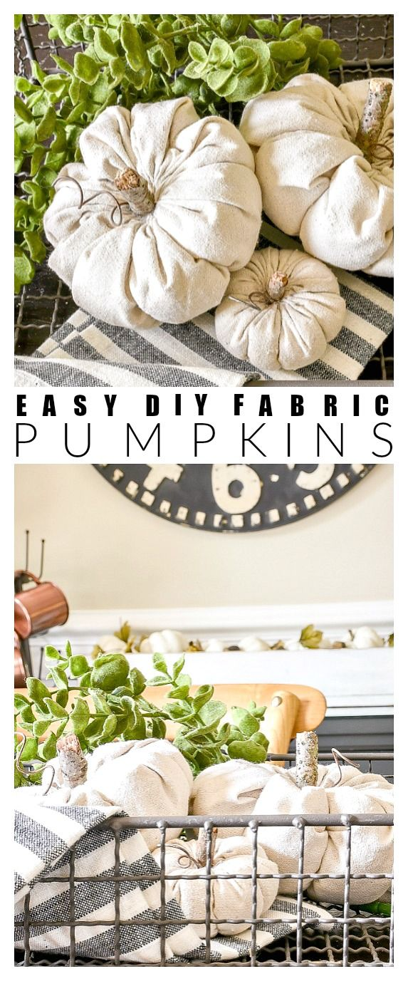 Photo of How to Make Easy Fabric Pumpkins