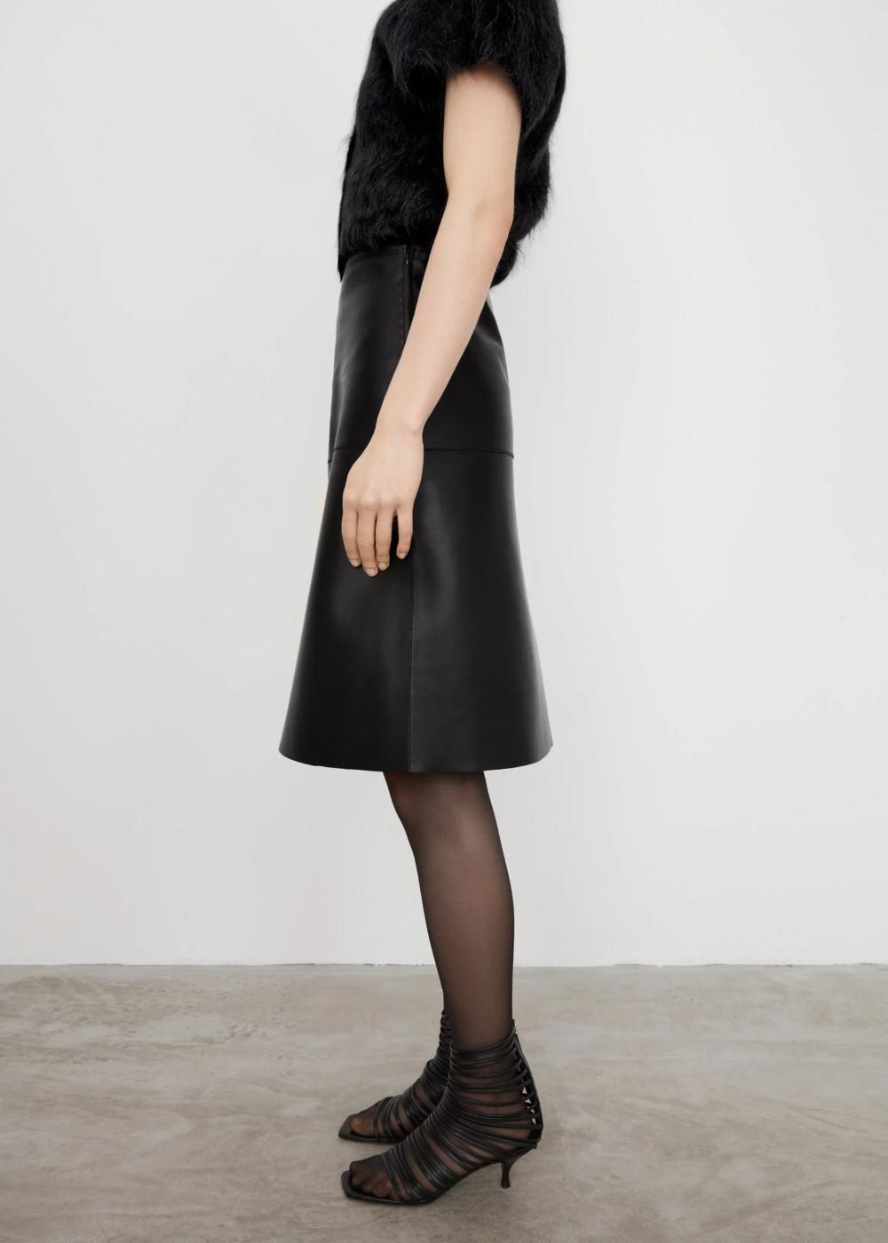 Dresses Skirts Black Leather Skirts Leather Skirt Skirts [ 1400 x 1000 Pixel ]