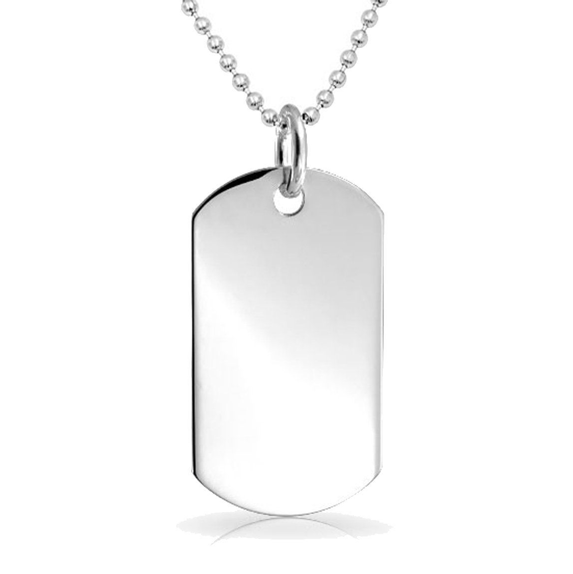 Amazon.com: Personalized Stainless Steel Dog Tag with 24\