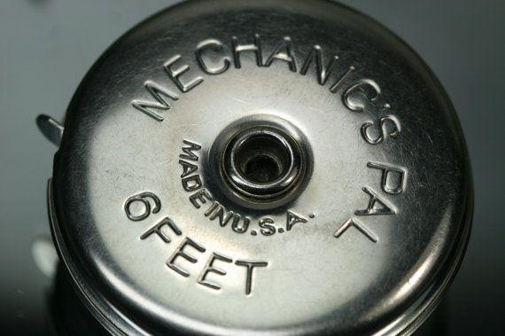 Vintage Mechanic's Pal Retractable Tape by csforevervintage, $10.00