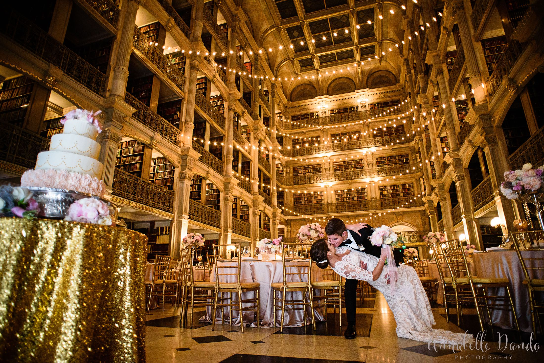 Corpus Christi And George Peabody Library Wedding In Baltimore Ashley Bryan Historic Venue Reception