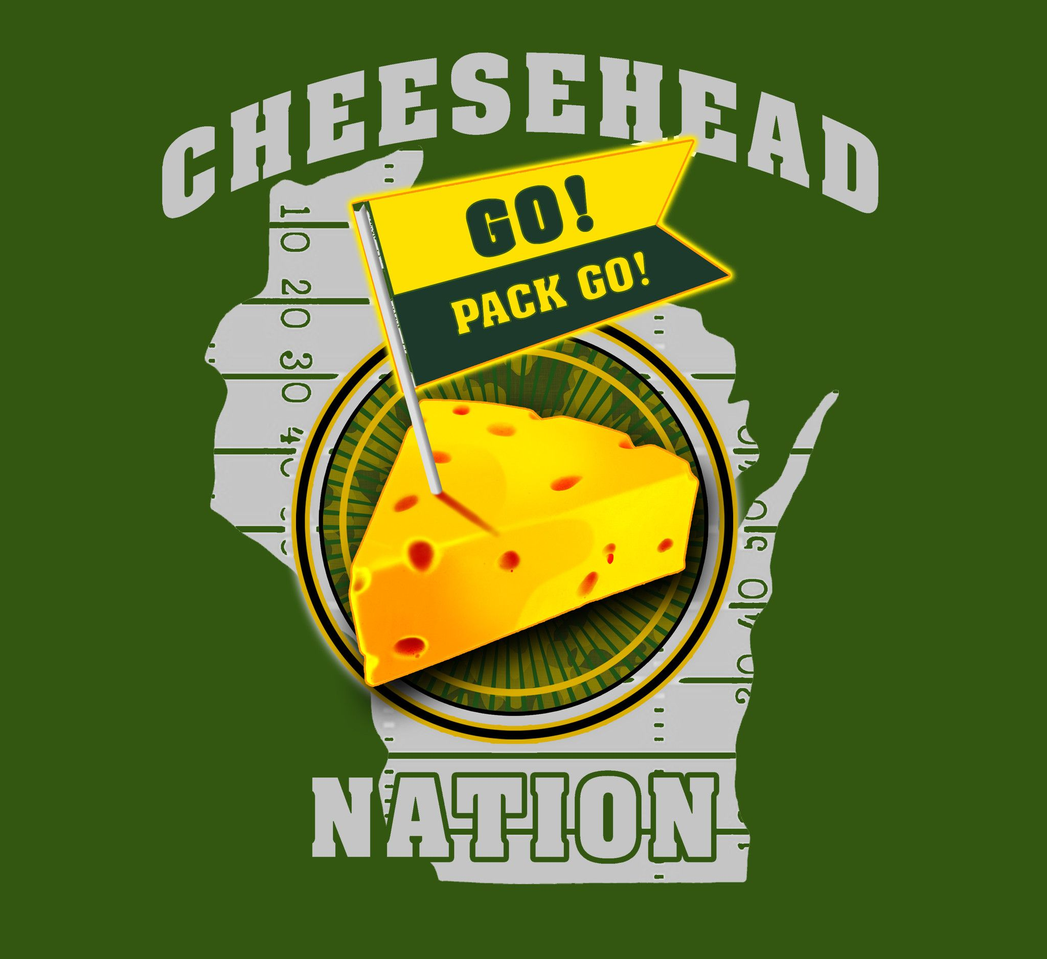 Cheesehead Nation Cheesehead Rodgers Packers Packers Fan