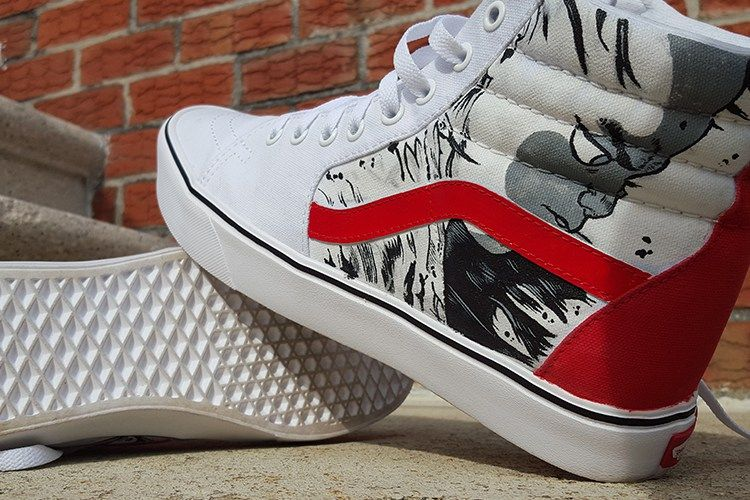 367b36786e Custom Vans Sk8-Hi Shoes