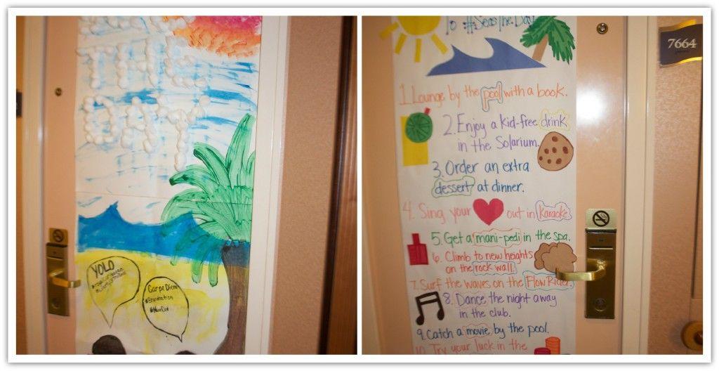 10 Ideas for Cruise Door Decorations | Cruise Ship Door ...