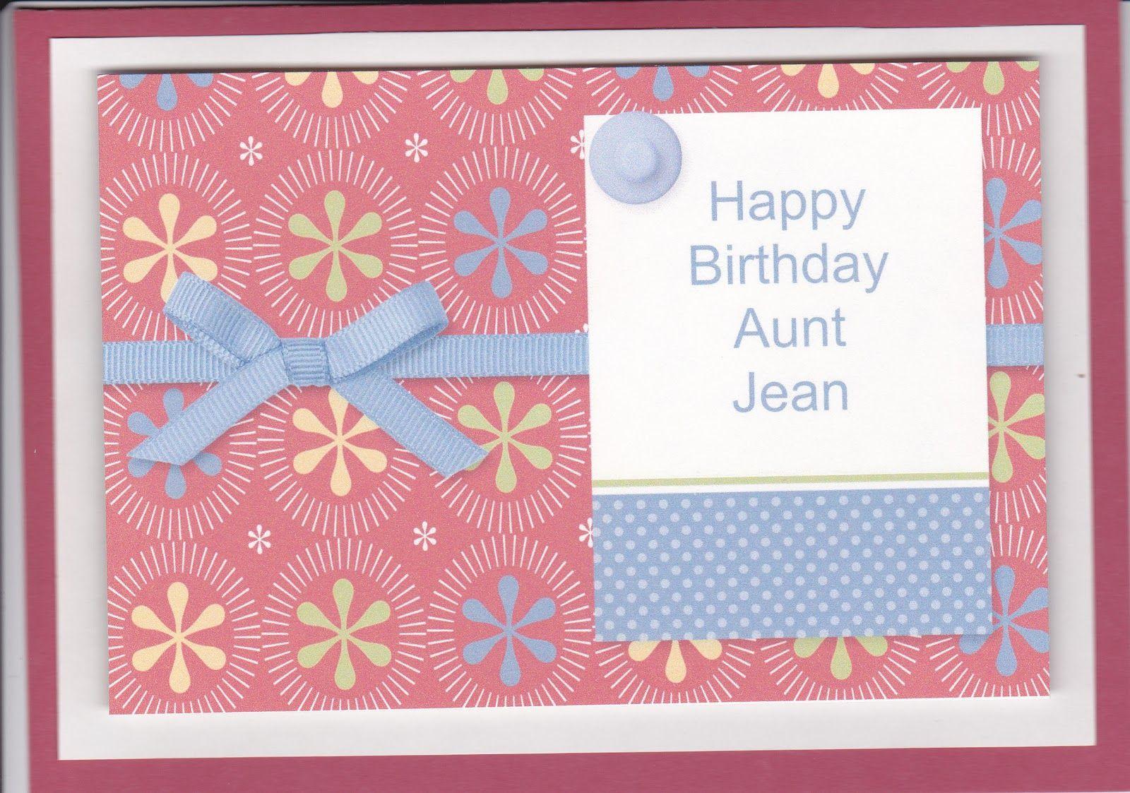 Happy birthday aunt jean free download birthday card for aunt happy birthday aunt jean free download birthday card for aunt this time thought making hd altavistaventures Choice Image