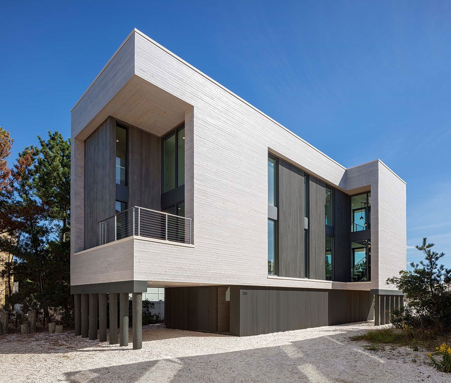 Modern Architecture Beach House the beach haven residencespecht architects is a modern beach