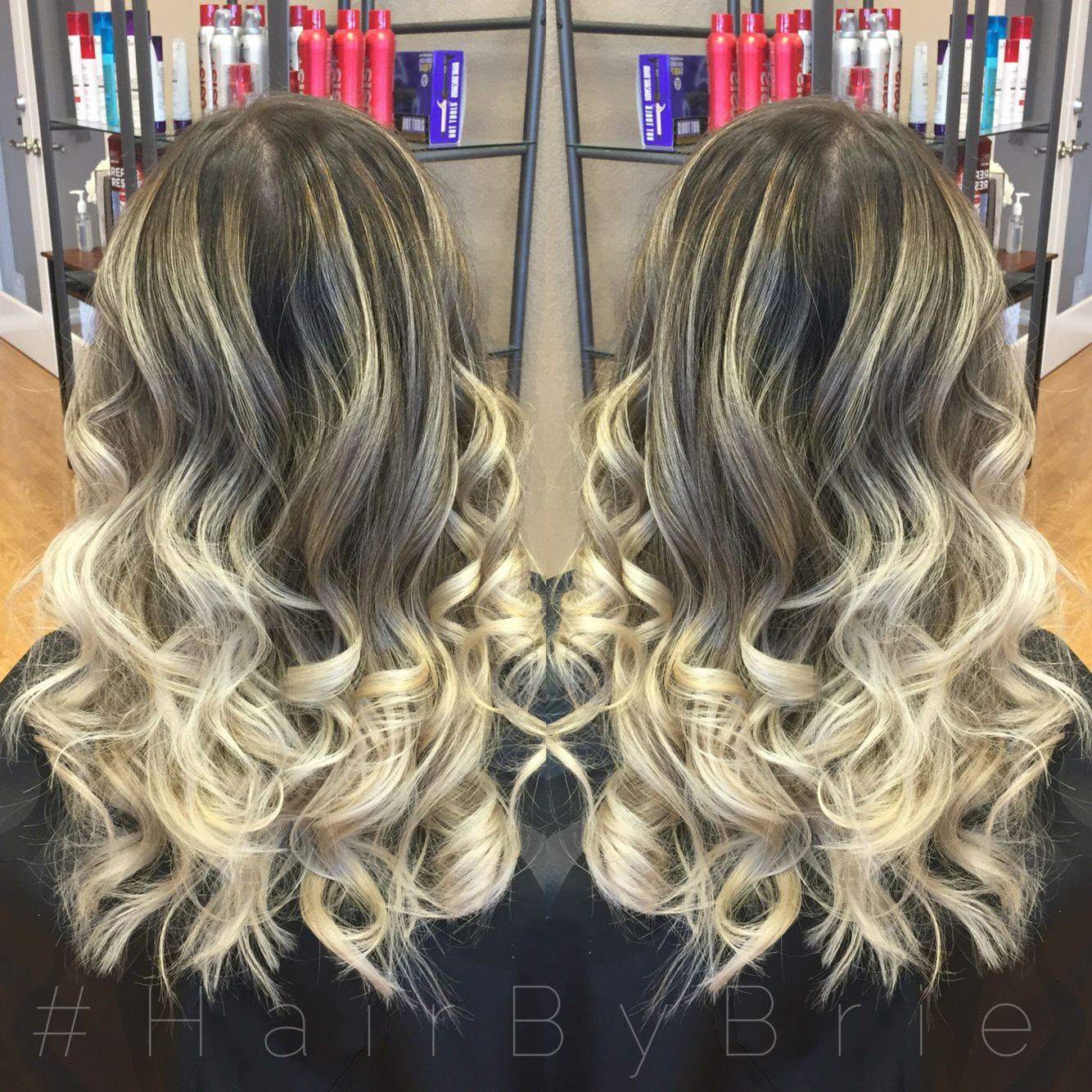 Platinum blonde ombre hairbybrie hair by brie pinterest