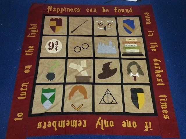 Food Amp Fabric Harry Potter Quilt Thomas Courtepointes