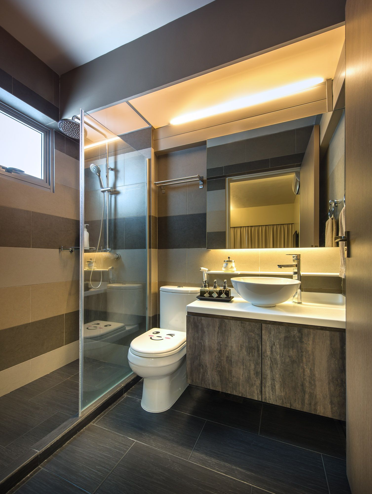 4 room bto master bedroom design  Rezt u Relax   room Punggol Walk  Bathroom  Pinterest  Room