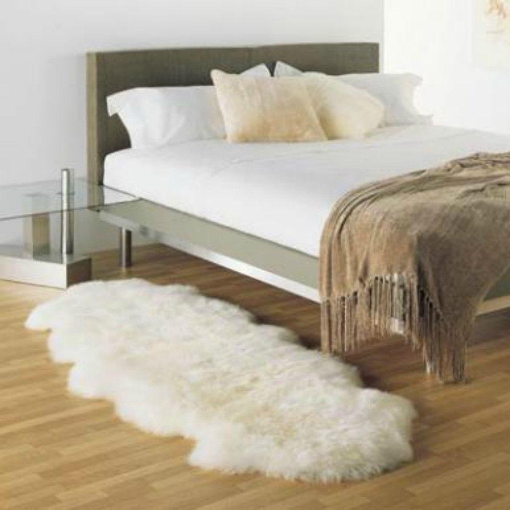 Bowron Sheepskin Rugs Ivory Gold Star Longwool Rug Rug Size 2 x 3