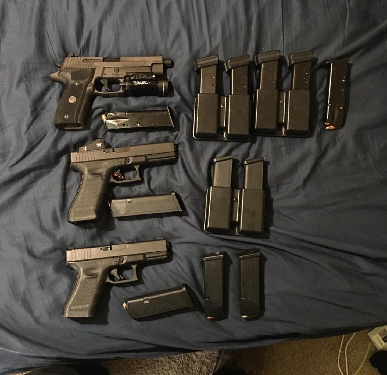 Sig P226 , Glock 19 MOS , Glock 17 | Guns & Steel | Guns