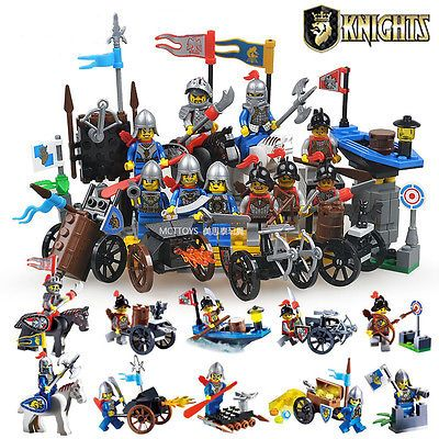 Lot of 10 sets Castle Knight  building block toys all new in bags  https://t.co/yyMFNC8ylR https://t.co/rEVdyoEVvg