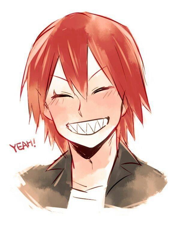 Kirishima With His Hair Down Cutie Bnha Kirishima