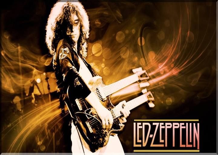 jimmy page �� led zeppelin stairway to heaven