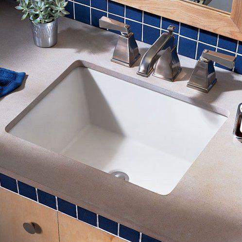 American Standard Boulevard Rectangular Undermount Bathroom Sink With  Overflow U0026 Reviews | Wayfair