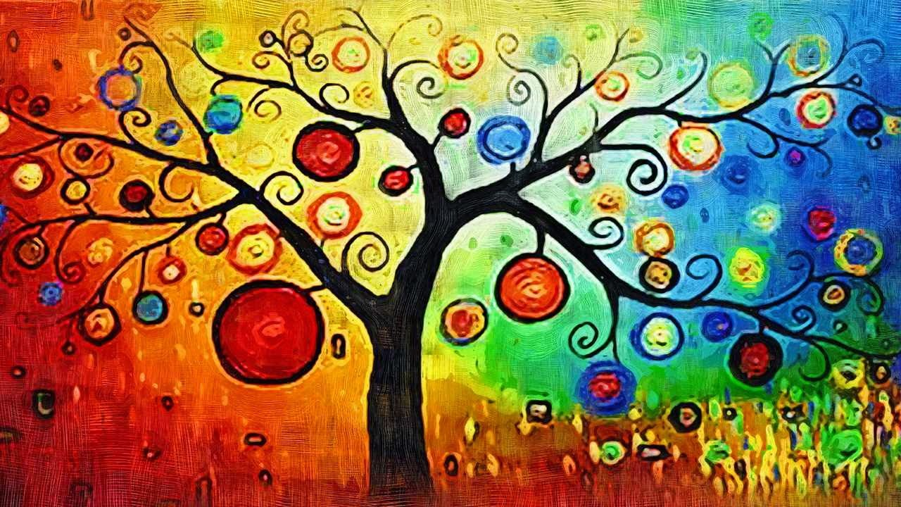 Arbol de la vida dibujo google search cuadros for Pintura color albero