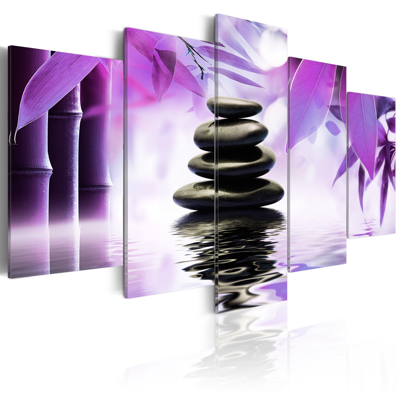 Artgeist - Tableau Blueberry relaxation Taille L 100 x H 50 cm | LesTendances.fr | Papier ...