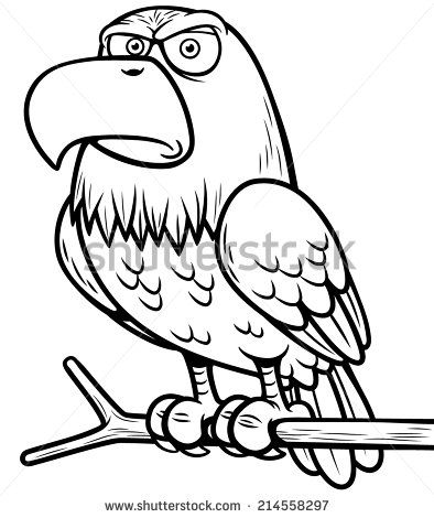 Stock Images similar to ID 110426801 - vector bald eagle or hawk ...