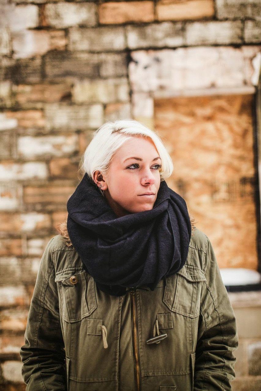 Yak wool shawl in black products scarfs and shawl