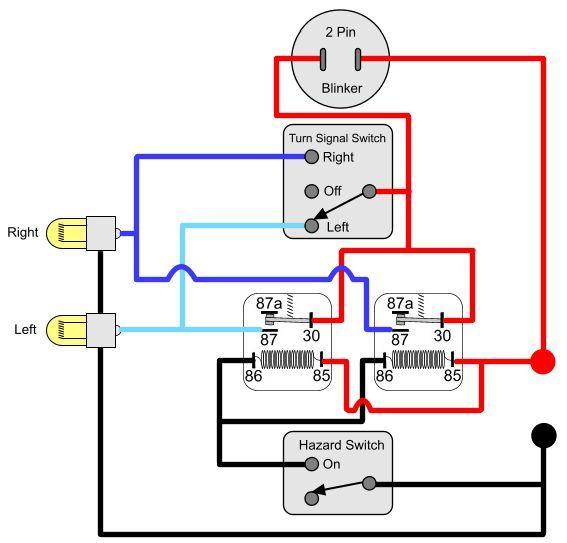 Wiring Diagram Lampu Hazard Mobil